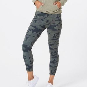 NWT Monrow Camo Gray Ankle Crop Leggings Size XS